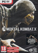 Mortal Kombat X PC Brand New Factory Sealed Fast Shipping