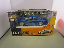 JADA 1/24 DUB CITY BLUE 1996 CHEVY IMPALA SS NEW IN BOX DIECAST KIT *READ*