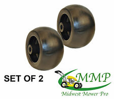 SET OF 2 Deck Wheel Universal 5x2-3/4 Replaces M84690 [ROT][6916]