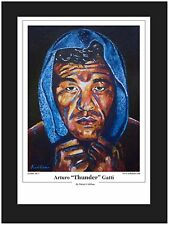 Boxing Arturo Gatti Limited Edition Art Print By Killian