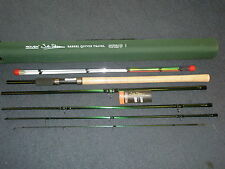 John Wilson Rovex 11' Barbel Quiver 5pc Travel fishing rod + Codura Tube