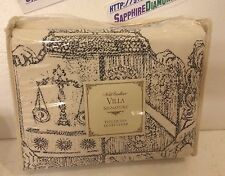 NOBLE EXCELLENCE VILLA LINEN CREST DUVET COVER! FULL/QUEEN New $199.00!