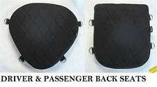 Motorcycle Driver & Passenger Seats Gel Pads Set  for Yamaha V-Star 250 virago