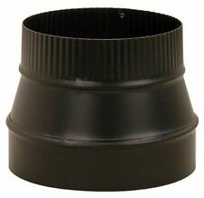 Imperial Mfg BM0079/8X6-611 Stove Pipe Flue Reducer 8X6in Black 24 Gauge *