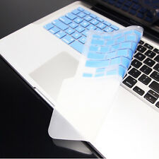 FULL BLUE Keyboard Skin Cover Case for Macbook Pro 13