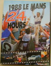 Le Mans 24 Hours 1988 Annual in English high quality colour book