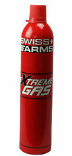 "BOUTEILLE GAZ AIRSOFT SWISS ARMS EXTREME GAS PISTOLET BILLES ""NEUF"" 603506"