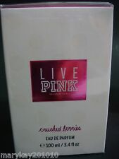 DISCONTINUED VICTORIA'S SECRET LIVE PINK CRUSHED BERRIES PERFUME PARFUM
