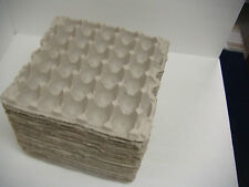 Lot of 100 Egg Carton Flat Crate Paper Tray Reptile Arts Crafts Jewelry Shipping
