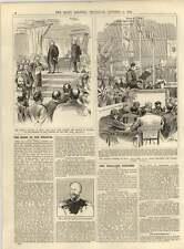 1891 Church Congress At Rhyl Bishop St Asaph Folk Lore Congress