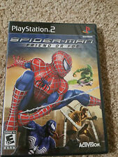 NEW Spider-Man Friend or Foe (Sony PlayStation 2, 2007) -Factory Sealed
