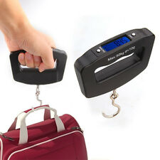 New 50kg/10g Digital LCD Hanging Luggage Pocket Weight Electronic Scale Hook