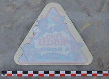Autocollant sticker pour vitrage auto, années 1980, p'tit musclé à bord, Danone,