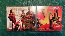 Dysfunctional;Don Dokken;Signed CD - dvd lp;George Lynch,Jeff Pilson,Mick Brown