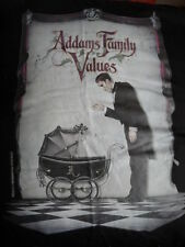 ADDAMS FAMILY VALUES, T-SHIRT, L, NEW, STUDIO PROMOTION, PRESHRUNK COTTON, BLK