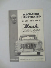 1952 Nash Ambassador test drive review article