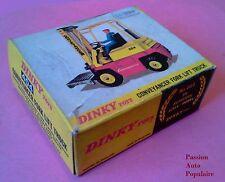 DINKY TOYS 404 : CONVEYANCER FORK LIFT TRUK boite repro / reprobox