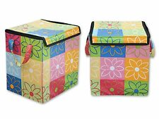 All in one Cloth Storage box / laundry bag / toy storage box(13*10*15)in
