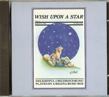 REGINA MUSIC BOX MUSIC - WISH UPON A STAR - CD - NEW