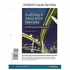 Auditing and Assurance Services, Student Value Edition by Mark S. Beasley,...
