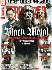 TERRORIZER #237 Black Metal AUTOPSY Chthonic AMON AMARTH Orphaned Land @NEW@