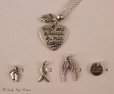 'You are Always in My Heart' Baby Loss Memorial Necklace