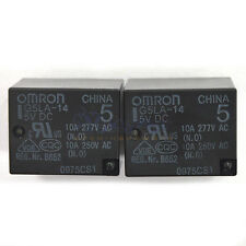 2 PCS G5LA-14 5V DC OMRON PCB Type Power Relay