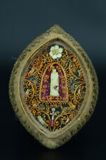 Antique French Vera Cross  Catholic Holy Relic True Cross multi Reliquary 18 thc