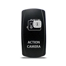 CH4x4 Rocker Switch Action Camera Symbol 2 - Blue LED
