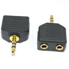 3.5mm Double Out Earphone Headset Headphone Y Audio Splitter Adapter Jack Plug Z