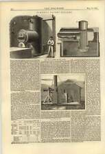 1874 Steam Siren Foghorn W Bowker Eccles Boilers