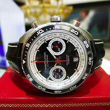 Men's Hamilton Stainless Steel PAN EUROP Caliber H31 Chronograph H357560