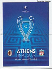 N°560 POSTER # FINAL ATHENS 2007 UEFA CHAMPIONS LEAGUE 2011 STICKER PANINI