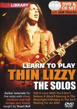 DVD CD Chitarra Learn Thin LIzzy The Solos Lick Library Rock Whiskey In The Jar
