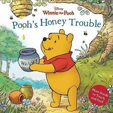 Pooh's Honey Trouble by Sara F. Miller (2012, Board Book)