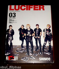 MADE IN JAPAN:SHINee - Lucifer 03 - DVD+PHOTO BOOKLET,LE.,K-POP,Play Button,USB