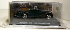 1/43 Scale James Bond 007 Bentley 4 1/4L From Russia With Love Diecast Model car