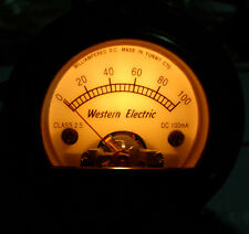 Brand New Warm BACKLIGHT 100mA Panel Meter  For KT63 KT88 KT33C Tube Amplifier