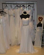 Bridal Wedding Dress – Mermaid Lace Wedding Dress, White, UK Size 12