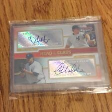 2008 Bowman Chrome Phil Hughes Joba Chamberlain Head Of The Class Autograph Auto