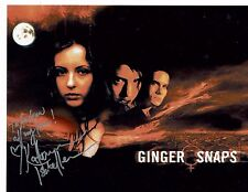Katharine Isabelle Actress Ginger Snaps Hand Signed photograph 10 x 8