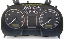 D VW Polo 6N ab 1997 - 2001  Chrom  Tachoringe Edelstahl poliert