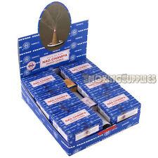 3 x 12 Satya Sai Baba Nag Champa Incense Dhoop Cones