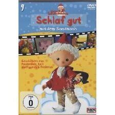 """UNSER SANDMÄNNCHEN """"SCHLAF GUT MIT DEM SANDMANN""""DVD NEU"""