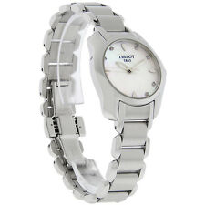 Tissot T-Wave Ladies MOP Diamond Swiss Quartz Watch T023.210.11.116.00