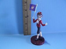 """#711 Funabashi Chitose 4""""in Girl Holding Flag Tetsudou-Musume DS GAME"""