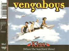 VENGABOYS : KISS (WHEN THE SUN DON'T SHINE) / 7 TRACK-CD - NEU