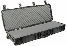 Seahorse SE1530F Black Gun case. With Pluck foam Includes Pelican 1720 Lock