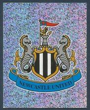 MERLIN 2003-FA PREMIER LEAGUE-10TH EDITION- #411-NEWCASTLE UNITED BADGE-FOIL