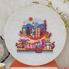 Pretty Little Hong Kong -  fun cross stitch chart - Satsuma Street